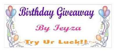 Ieyza Birthday Giveaway