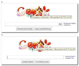 google-dirgahayu indonesia