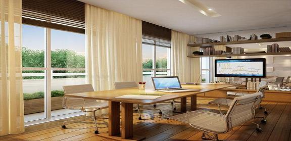 Sala de reuniões Perspectiva+ilustrada+Sala+comercial3