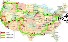 Updated Map of Travels