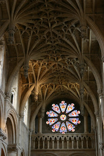 Chancel vault and window, Christ Church Cathedral