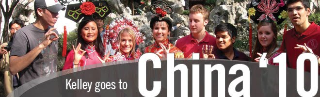 Kelley in China 2010