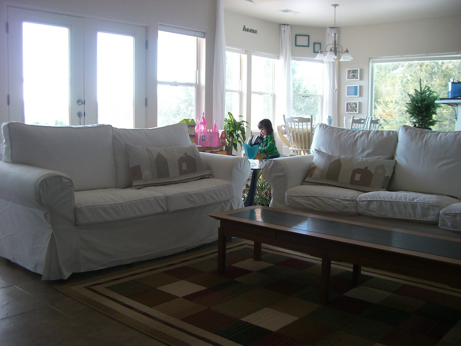 Home Kids Life White Sofas Amp Children Ikea Ektorp