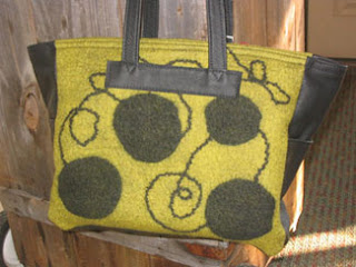 handfelted handbag heather kerner