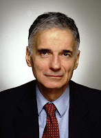 Hey, look at me! I'm Ralph Nader and I have a halo!