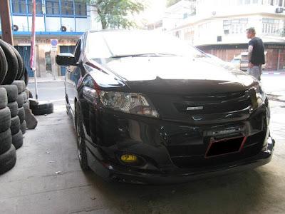Latest kit from Mugen for Honda city 2009. Fierce front bumper