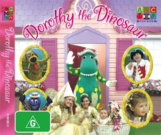 Betty Rockit: Domestically Challenged: Photoshop and Dinosaurs Wiggles Dorothy The Dinosaur Dvd