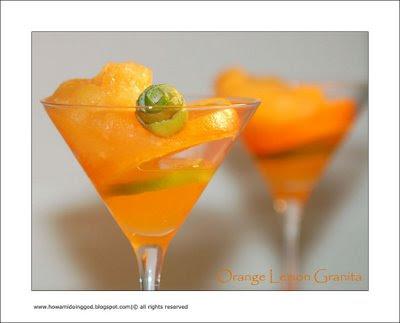 Orange desert recipes