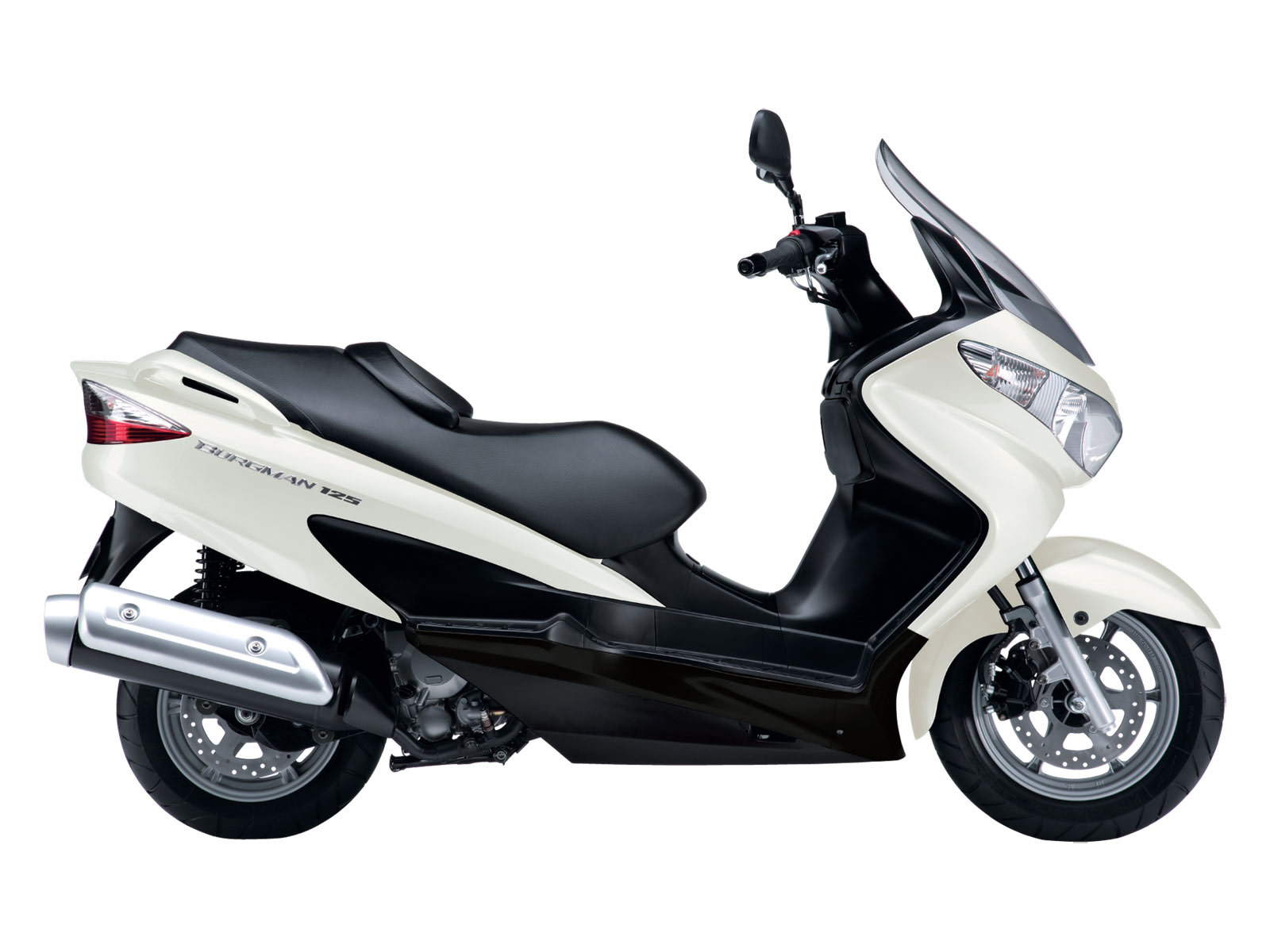 Auto Trader Suzuki Burgman 125 2010 Scooter Wallpapers
