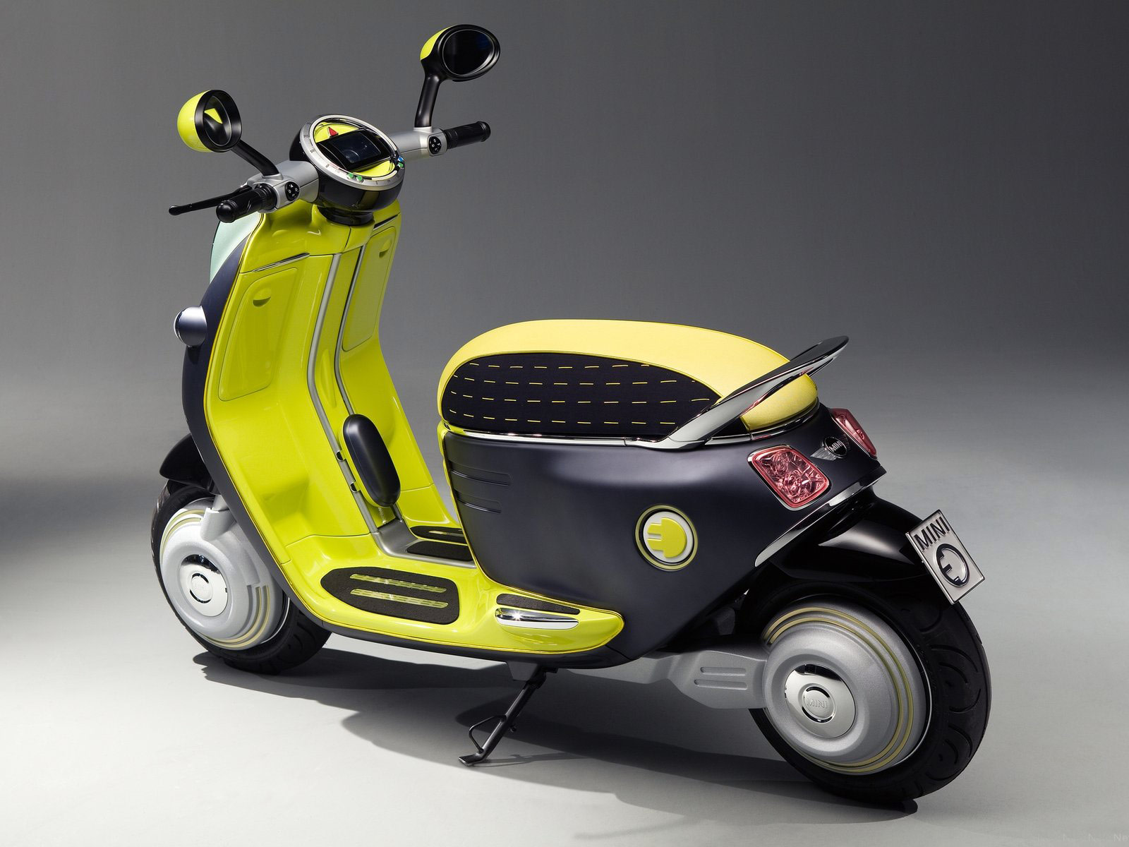 motorcycle super sport  MINI Scooter E Concept  2010  wallpapers