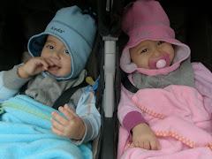Yonatan and Danielle - December 2009
