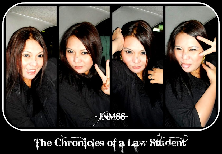 The Chronicles of a Law Student