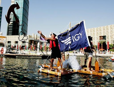 Plastic Boat Regatta at Dubai Festival City Marina