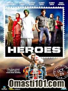 Heroes 2008 Hindi Movie Watch Online