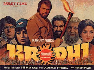 Krodhi 1981 Hindi Movie Watch Online