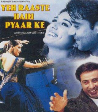 Yeh Raaste Hain Pyaar Ke (2001) SL TWT - Sunny Deol, Ajay Devgan, Madhuri Dixit, Preity Zinta, Vikram Gokhale, Deep Dhillon, Kiran Kumar, Rajeev Verma, Tiku Talsania, Asha Sharma