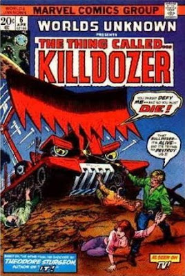 Killdozer! Comic Book