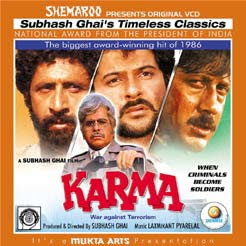 Karma 1986 Hindi Movie Watch Online