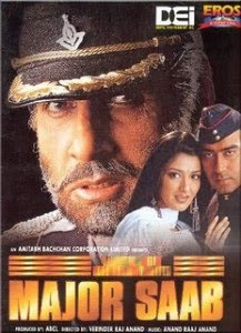 Major Saab 1998 Hindi Movie Watch Online