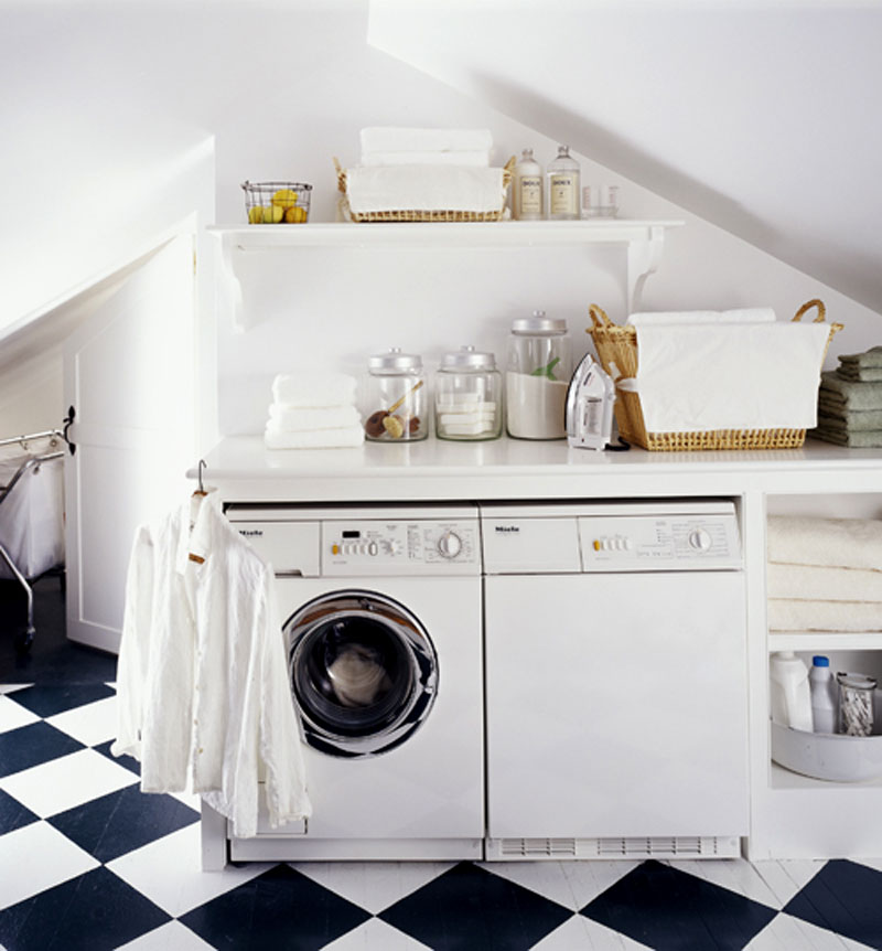 laundry rooms this is great motivation for a little laundry room