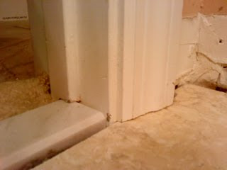 Tiling Bathroom Door Threshold inspired remodeling & tile | bloomington, indiana & surrounding