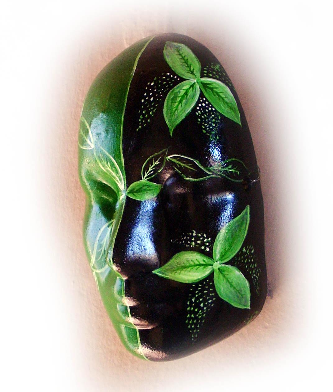 Las máscaras para la persona de los granos del jugo de limón