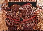 Muslim kiss black stone