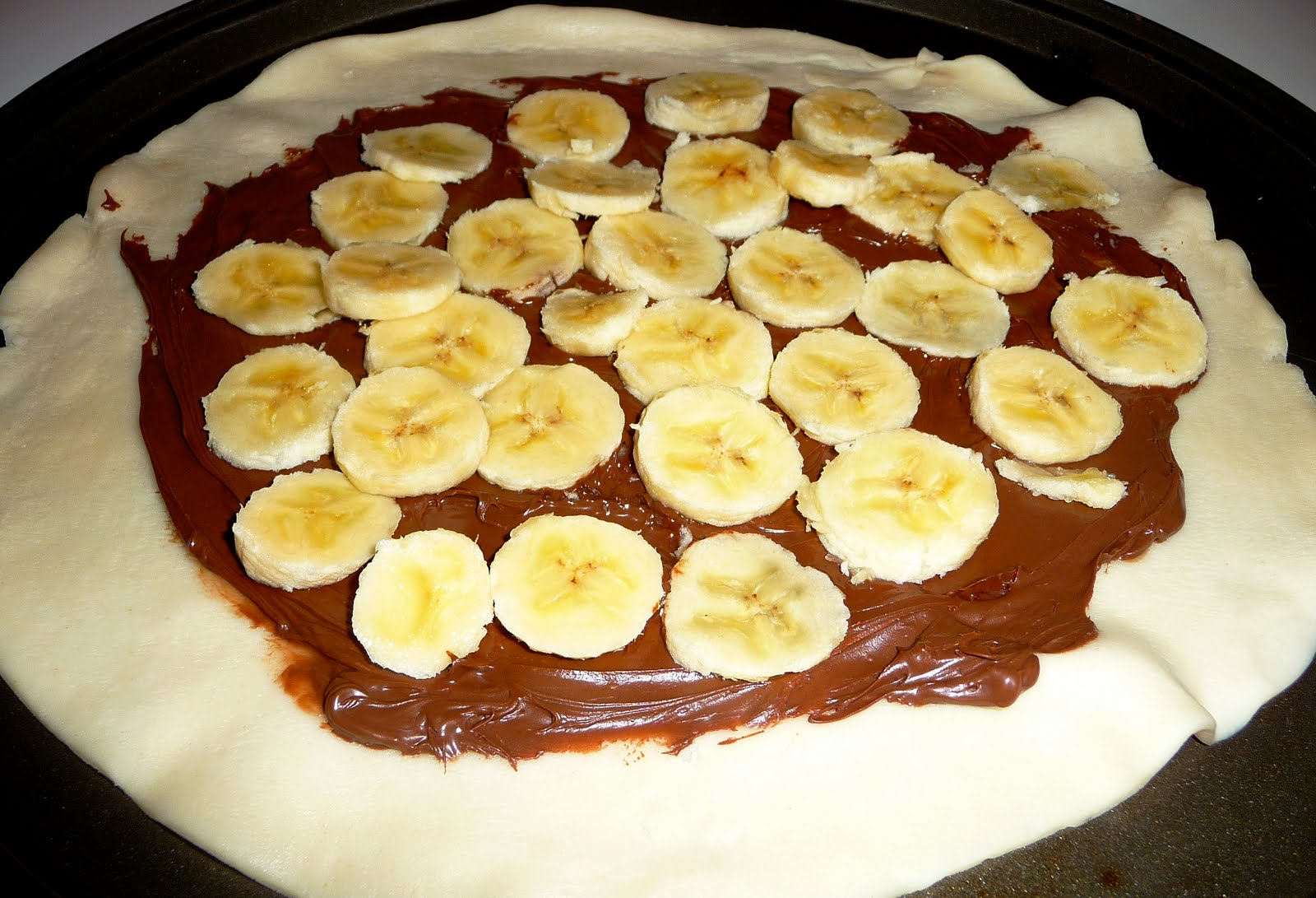 Live.Love.Eat: Banana-Nutella Galette