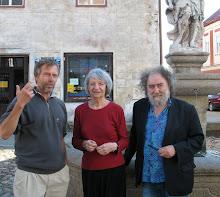 S paní Annou Fárovou a Joskou Skalníkem ve Slavonicích