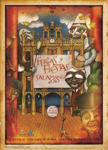 Catel de fiestas de Salamanca 2010