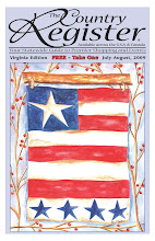 Cover Art by Liz Revit - July - Aug 2009 The Country Register - VA edition