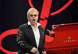 Elton John no rio