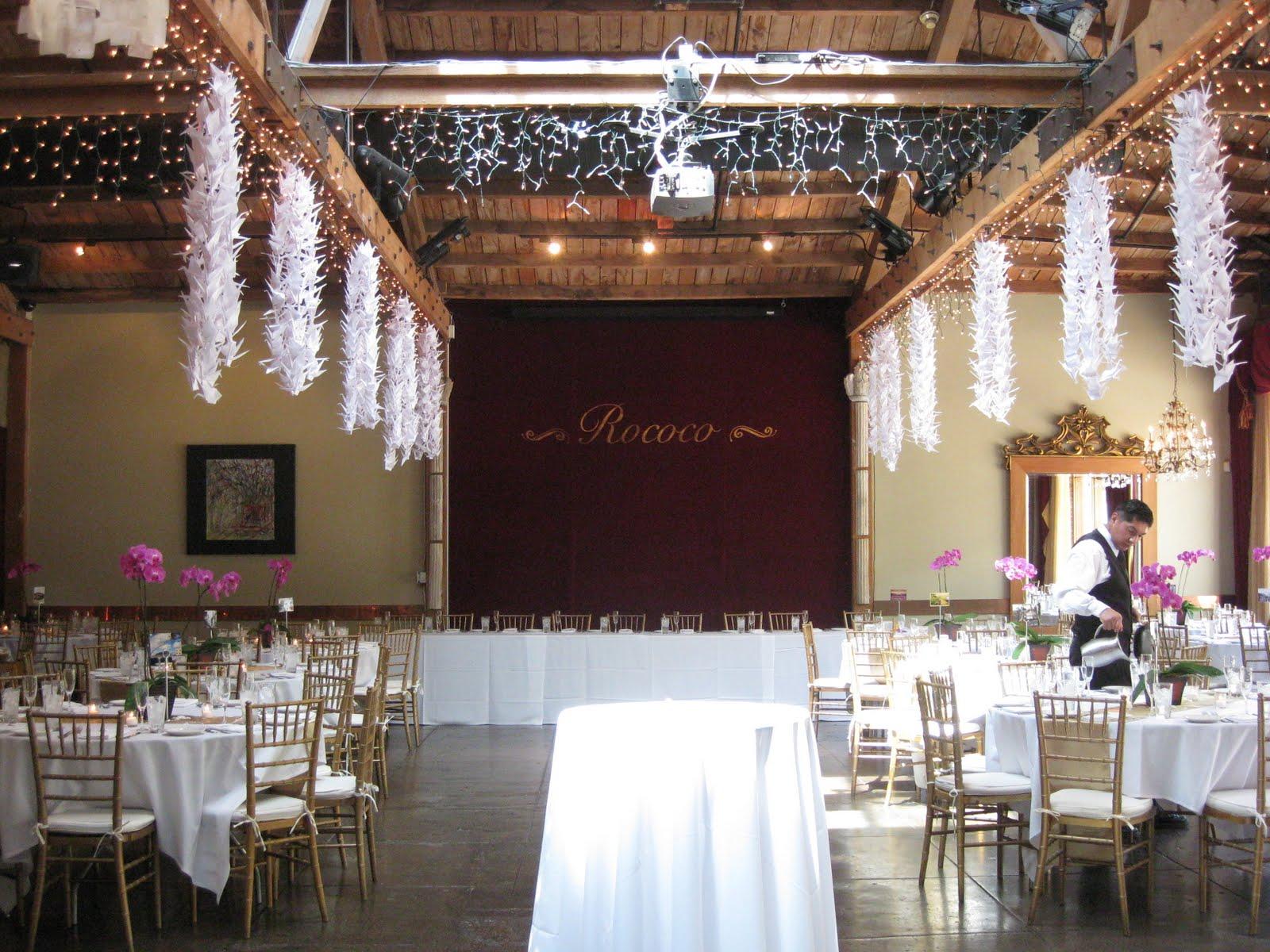 Rococo room wedding