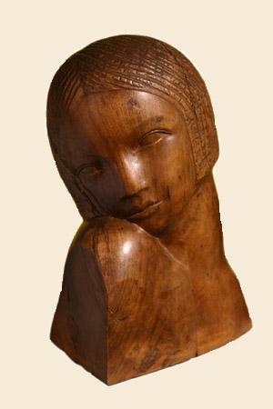 Vajarstvo-skulpture Inv+br+133+RStijovic+Devojcica