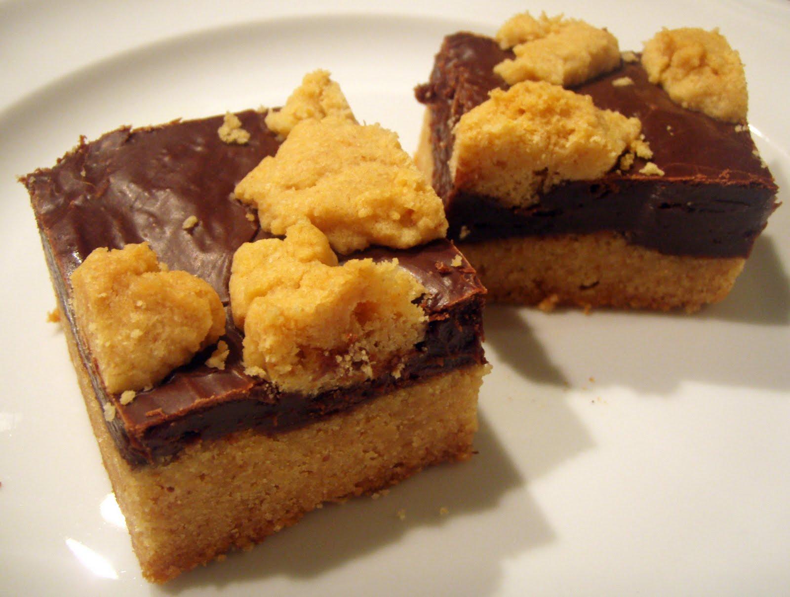Pineapple Grass: Peanut Butter Fudge Bars