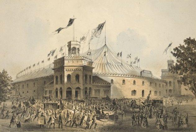new york history geschichte franconi 39 s hippodrome 1853. Black Bedroom Furniture Sets. Home Design Ideas