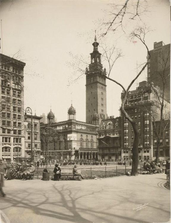 New York History Geschichte Madison Square Garden Ii Corners