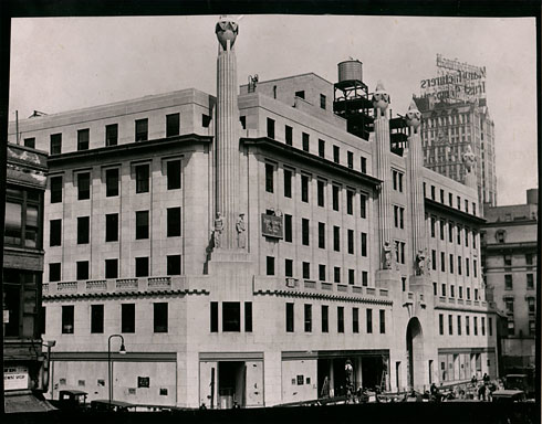 new york - history - geschichte: the international magazine building, Hause ideen