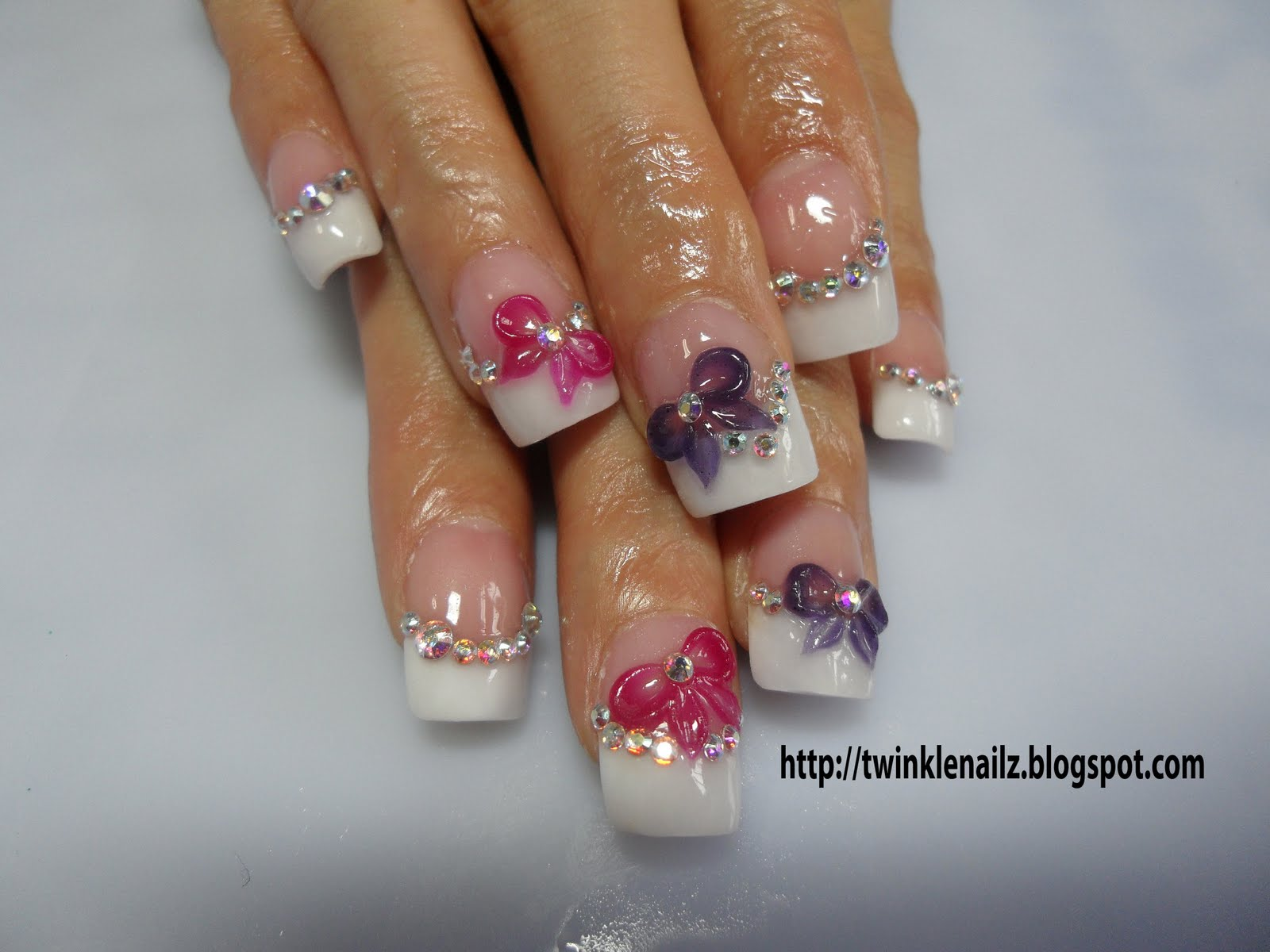 Beautiful 3D Nail Paint Art - artnail.