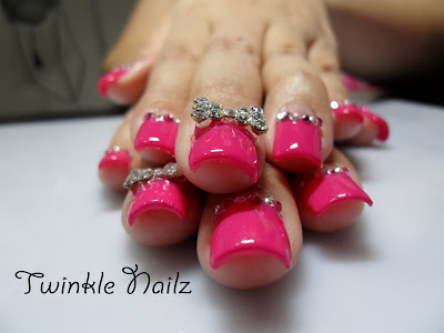 3D, Acrylic Nails, Gel overlay By TWINKEL NAILZ - Cinema 4D News ...