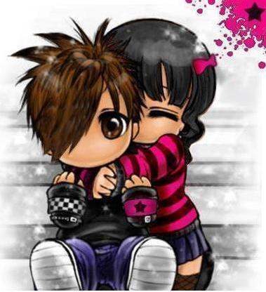 dibujos de amor emo. imagenes de amor emo. amor