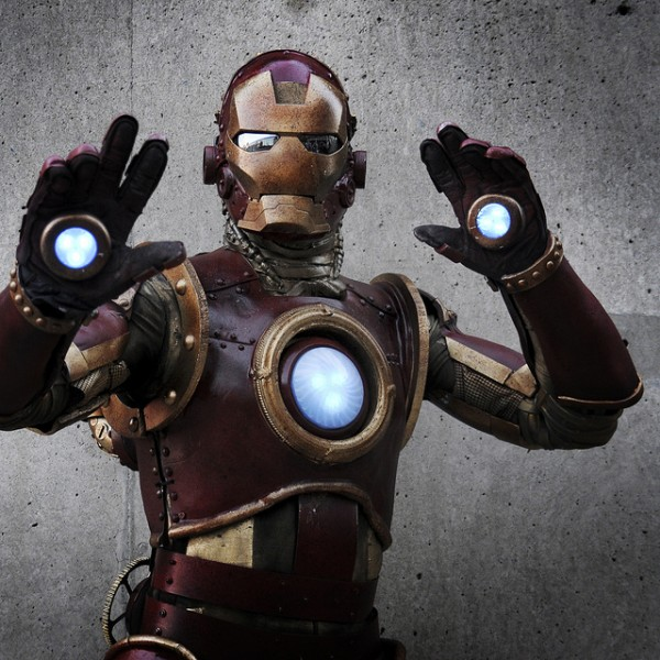 Steam Punk Iron Man Suit Comic Con