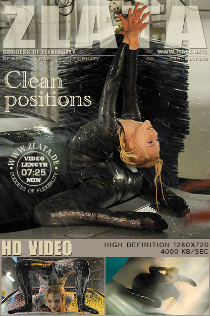 elastic rubber sexy girl Zlata Flexibility Flexible