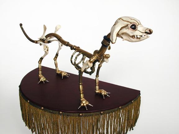 Jessica Joslin Hybrids bone art sculptures