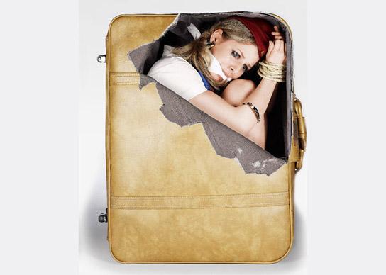 Funny Suitcase Stickersi