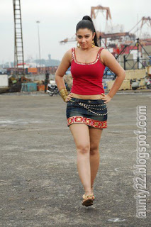 Actress Charmi In Mini Skirt