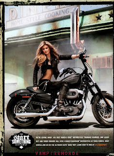Marisa Miller in sexy rider photoshoot for Harley Davidson 2010 Campaign
