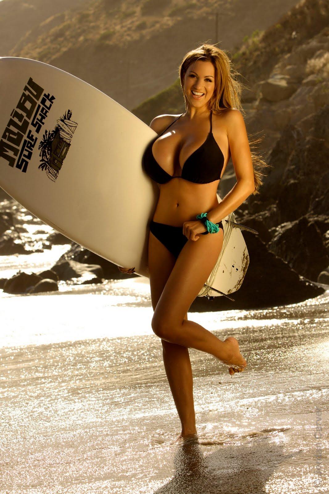 OQuinns blog  Jordan Carver Hot Surfer Photo