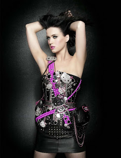 Katy Perry in Sweet Pop Rock Star Fashion Model Photoshoot Session