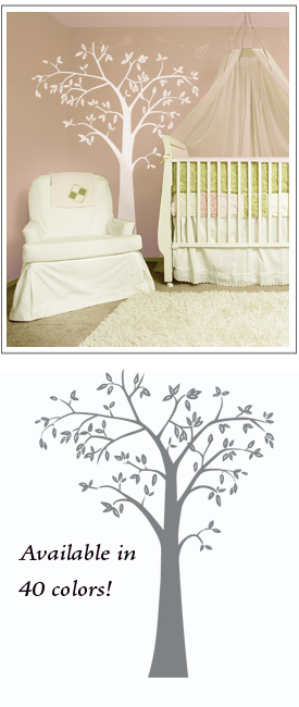 The white tree in a